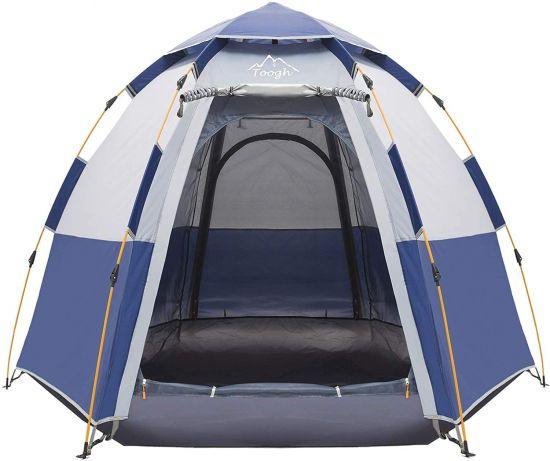 toogh pop up tent blue