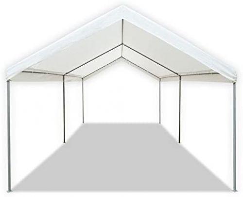 caravan canopy carport front view