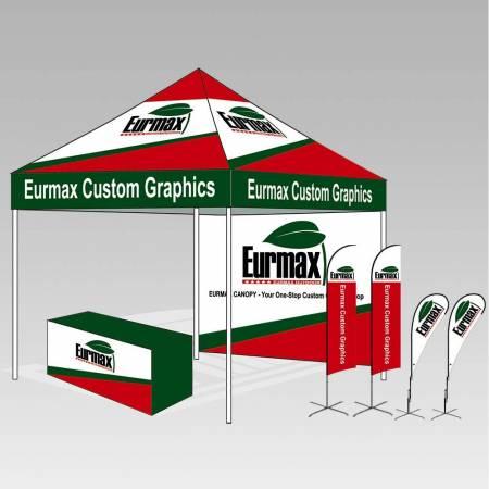 eurmax canopy custom banner option