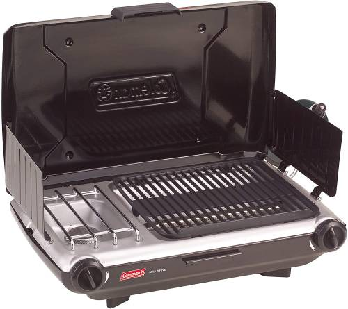 Coleman Camp Propane Grill and Stove