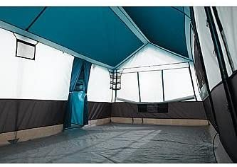 Grand canyon tent inside view