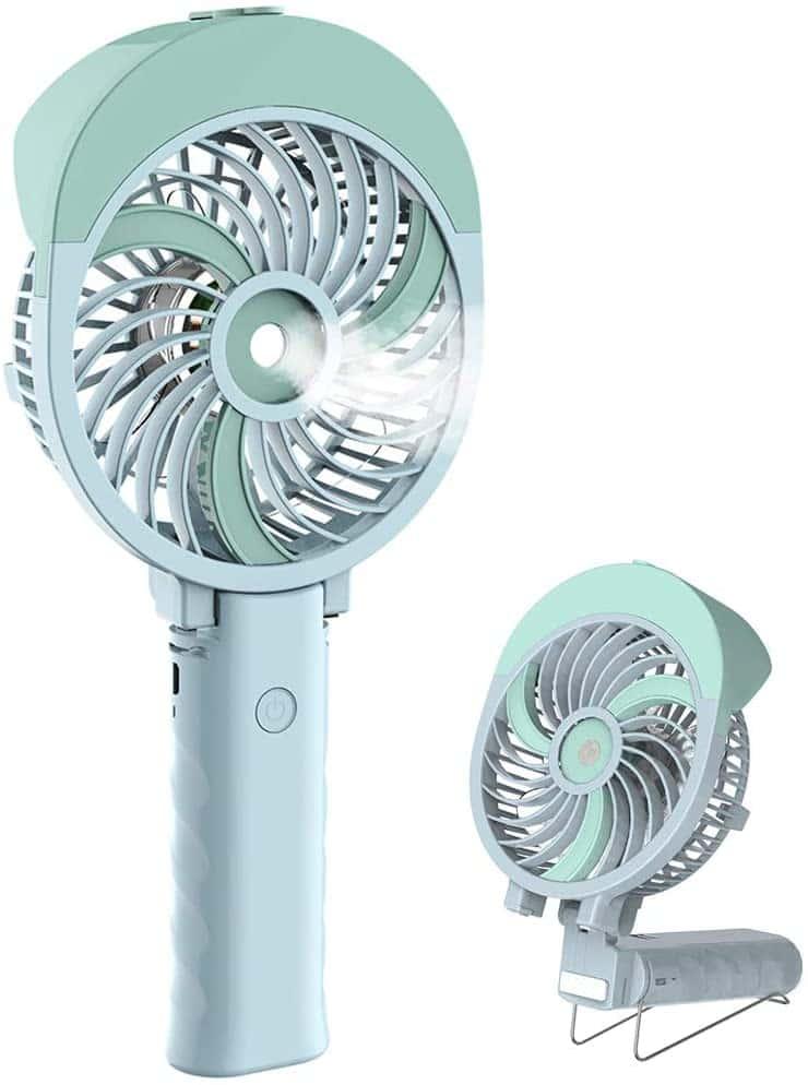 HandFan Portable Handheld Misting Fan
