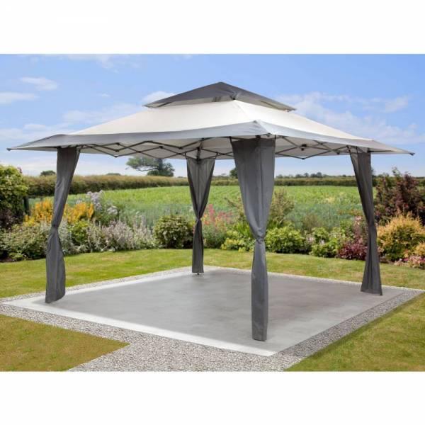 Mosaic Pop Up Gazebo Canopy garden