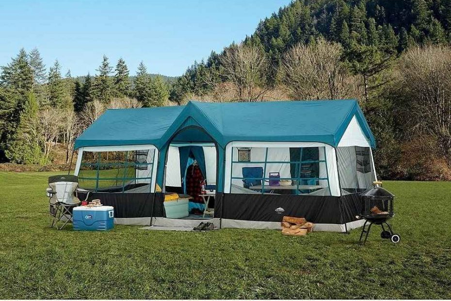 northwest territory tent pitched at a campsite