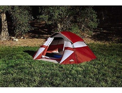 Red Sierra 3 Person Dome Tent