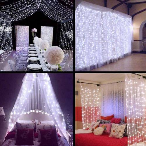 Canopy Curtain String Lights