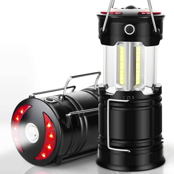 EZORKAS 2-Pack Rechargeable Camping Lanterns