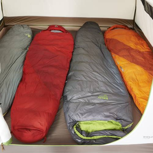 Kelty Salida 4 person sleeping area