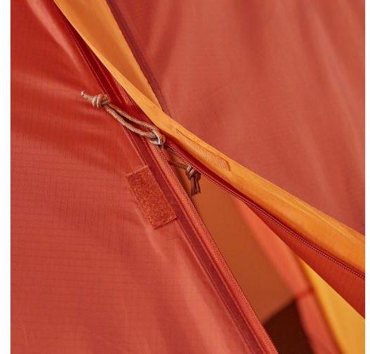 Marmot Halo Tent zipper features