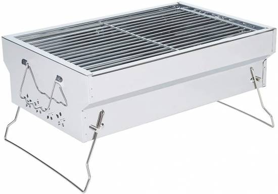 Samdray Tabletop Portable Charcoal Grill