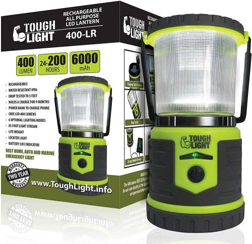 Tough Light LED Rechargeable Camping Lantern