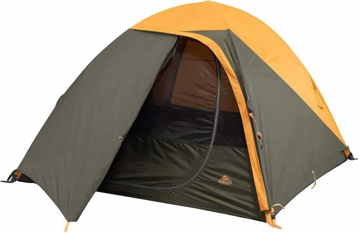 grand mesa tent half open