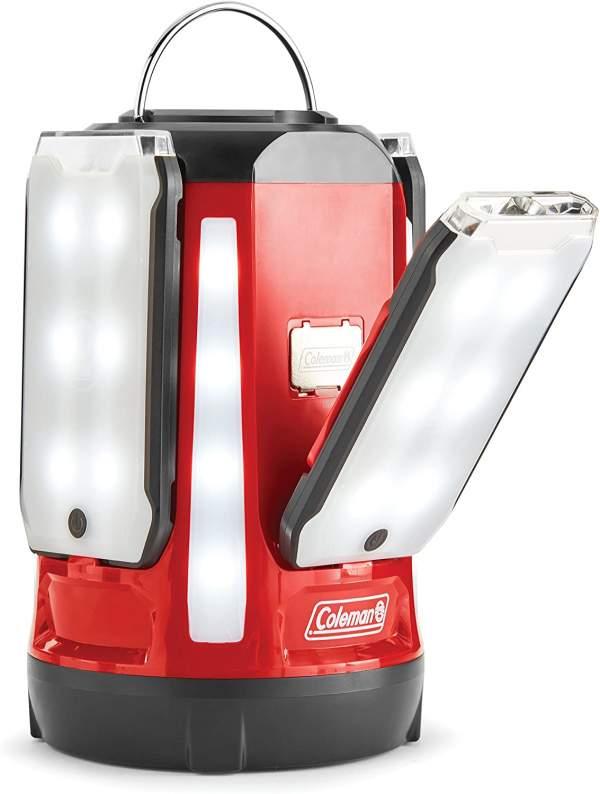 Coleman Multi-Panel Quad Pro LED Camping Lantern