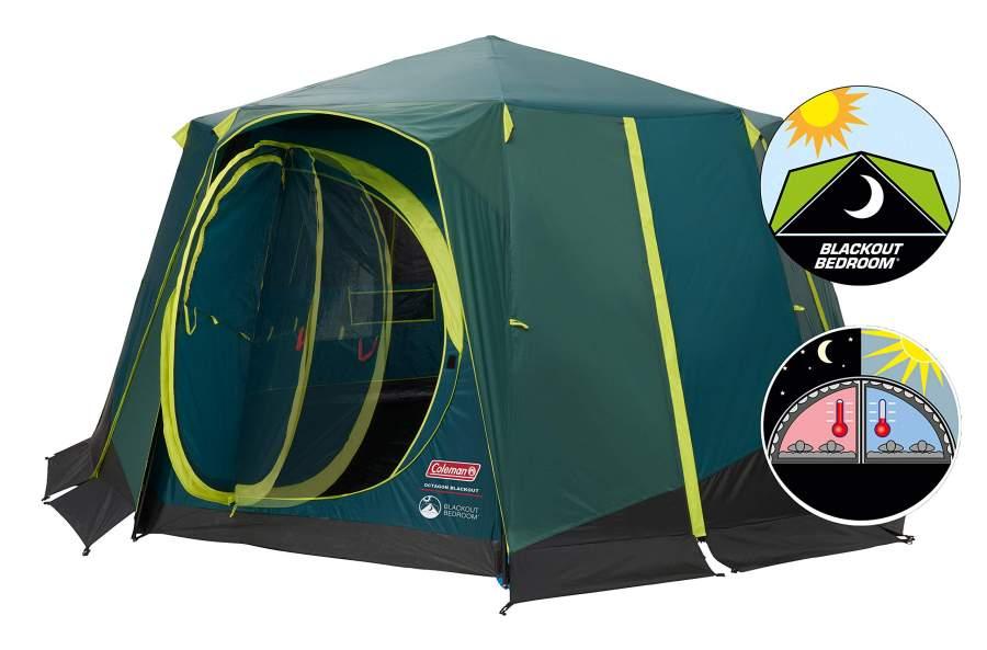 Coleman Octagon BlackOut tent - review